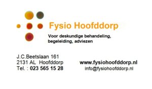 Fysio advertentie